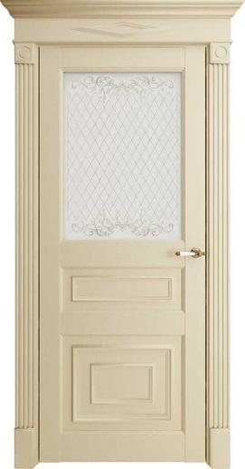 Межкомнатная дверь Florence 62001 Керамик Серена Остекленная