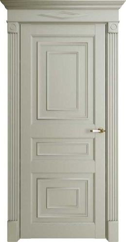 Межкомнатная дверь Florence 62001 Светло-серый Серена Глухая